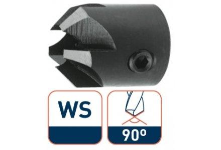 Rotec WS opsteekverzinkboor 4,0x16 5 snijkanten 90°