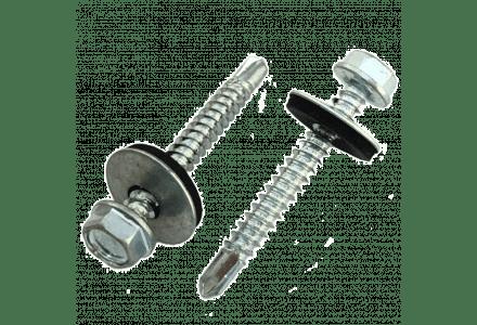 Zelfborende schroeven met ring 6,3x38 200 stuks