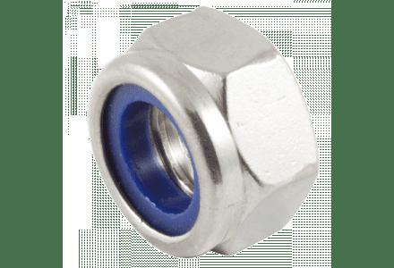 Borgmoeren RVS A2 M5 DIN 985 - 200 stuks