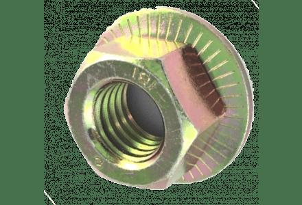 Combimoeren M12 met ring verzinkt  - 100 stuks