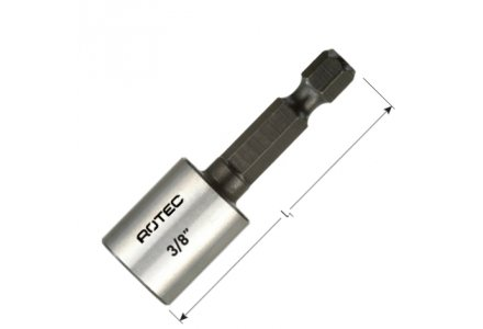 Dopsleutel bit 10mm magnetisch