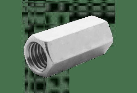Koppelmoeren DIN 6334 6 M8 galvanisch verzinkt - 100 stuks