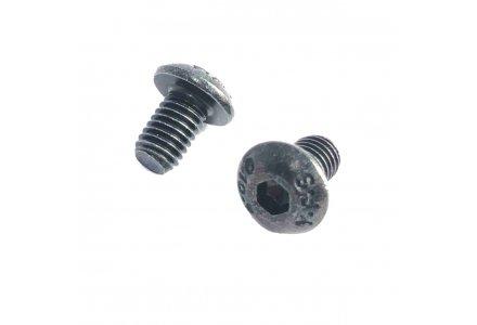 Inbusbouten laagbolkop zwart onbehandeld ISO 7380 6x10 200 stuks