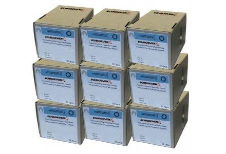 Torx spaanplaatschroeven voordeel assortiment, 4x30, 4x40, 4x50 en 4,5x60 (4000 schroeven)