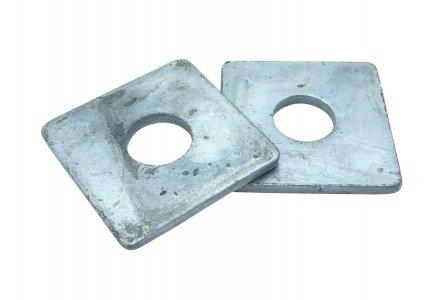 Sluitplaat DIN 436 thermisch verzinkt M12 - 100 stuks