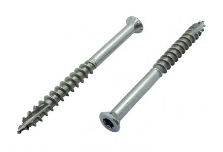 Reisser vlonderschroeven TS-A2 - Torx RVS A2 - 5,5x60 - 180 stuks - Ruspert Silver