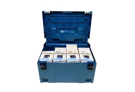 Woodies schroeven XL assortiment in M-box 3400 delig