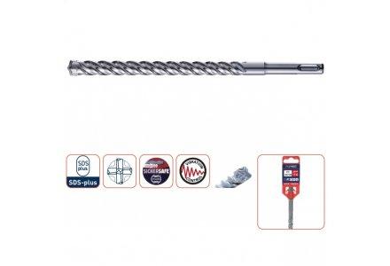 SDS plus hamerboor 6 165x100 4-snijder