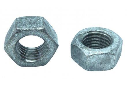 Moeren DIN 934 thermisch verzinkt M10 - 100 stuks